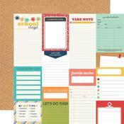 Journal Elements Paper - School Life - Simple Stories