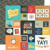 Elements 2x2 & 4x4 Paper - School Life - Simple Stories - PRE ORDER