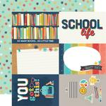 Elements 4x6 Paper - School Life - Simple Stories - PRE ORDER