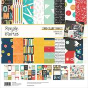School Life 12x12 Collection Kit - Simple Stories - PRE ORDER