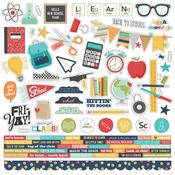 School Life Combo Stickers - Simple Stories - PRE ORDER