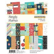 School Life 6x8 Paper Pad - Simple Stories - PRE ORDER