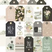 Tags Paper - Happily Ever After - Simple Stories