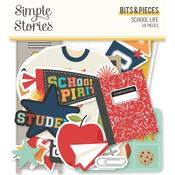 School Life Bits & Pieces Die-Cuts - Simple Stories