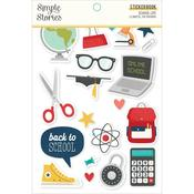 School Life Sticker Book - Simple Stories - PRE ORDER