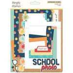 School Life Chipboard Frames - Simple Stories