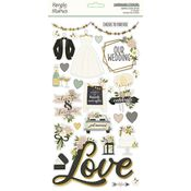 Happily Ever After 6x12 Chipboard - Simple Stories - PRE ORDER