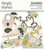 Happily Ever After Bits & Pieces - Simple Stories - PRE ORDER