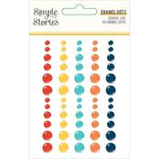 School Life Enamel Dots - Simple Stories - PRE ORDER
