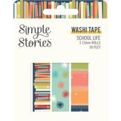 School Life Washi Tape - Simple Stories - PRE ORDER