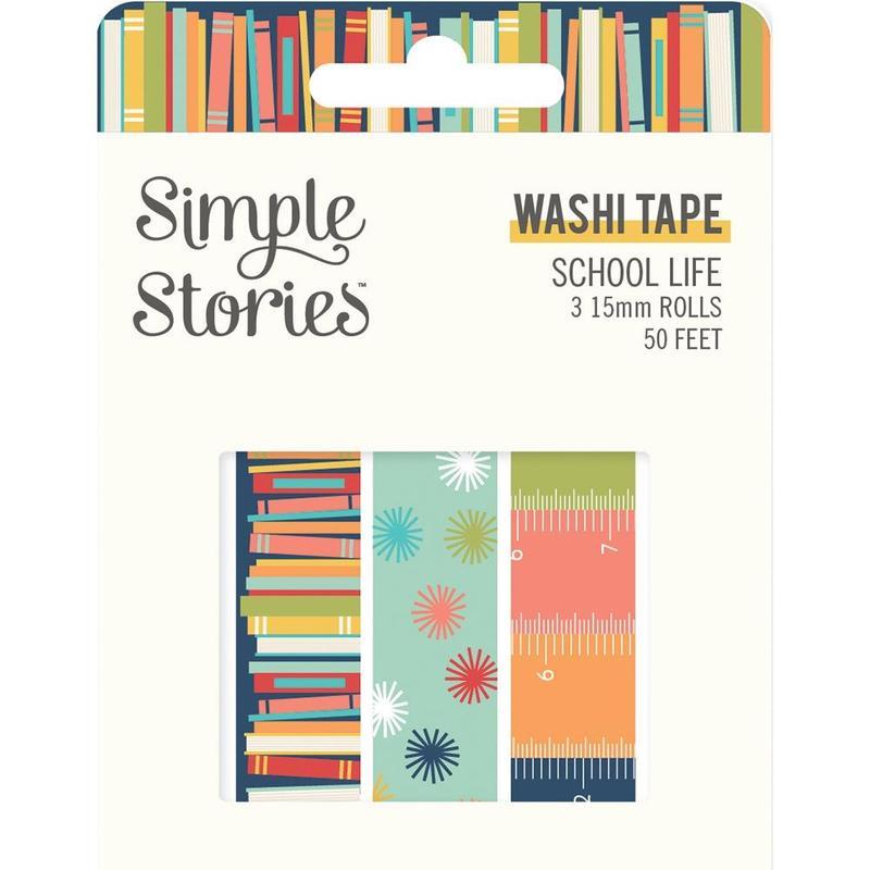 School Life Washi Tape - Simple Stories - School Life