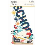 School Life Page Pieces - Simple Stories - PRE ORDER