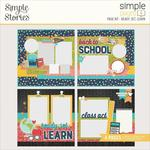 Ready, Set, Learn Page Kit - School Life - Simple Stories - PRE ORDER