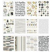 Happily Ever After Sticker Book - Simple Stories - PRE ORDER