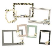 Happily Ever After Chipboard Frames - Simple Stories - PRE ORDER