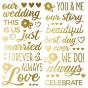 Happily Ever After Foam Stickers - Simple Stories - PRE ORDER