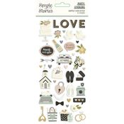 Happily Ever After Puffy Stickers - Simple Stories - PRE ORDER