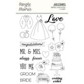 Happily Ever After Stamp - Simple Stories - PRE ORDER