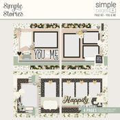 You & Me Simple Pages Page Kit - Happily Ever After - Simple Stories - PRE ORDER