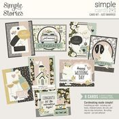 Just Married Simple Cards Card Kit - Happily Ever After - Simple Stories - PRE ORDER