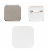 Square Button Pin Back Refill Kit - Button Press - We R Memory Keepers