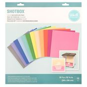 ShotBox Solids Backgrounds Pack - We R Memory Keepers - PRE ORDER