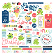 Fern & Willard Element Stickers - Photoplay