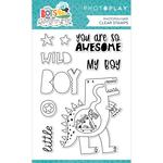 Little Boys Have Big Adventures Stamp Set - Photoplay