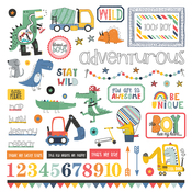 Little Boys Have Big Adventures Element Stickers - Photoplay