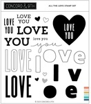 All The Love Stamp Set - Concord & 9th - PRE ORDER