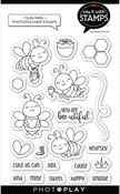 Busy Bees 4x6 Icon Stamps - Photoplay