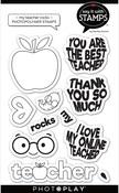 My Teacher Rocks 4x6 Icon Stamps - Photoplay