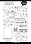 Hey Cupcake 6x8 Icon Stamps - Photoplay