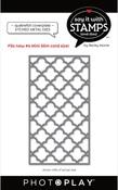 #6 Quatrefoil Coverplate Dies - Photoplay - PRE ORDER