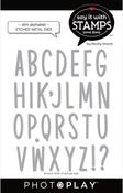 Slim Alphabet Dies - Photoplay - PRE ORDER
