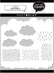 Clouds 6x6 Stencil - Photoplay