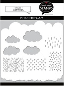 Clouds 6x6 Stencil - Photoplay - PRE ORDER