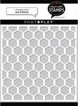 Honeycomb 6x6 Stencil - Photoplay