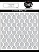 Honeycomb 6x6 Stencil - Photoplay - PRE ORDER