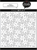 Floral 6x6 Stencil - Photoplay - PRE ORDER