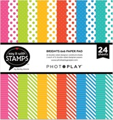 Brights Dots & Stripes 6x6 Pad - Photoplay - PRE ORDER