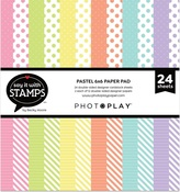 Pastel Dots & Stripes 6x6 Pad - Photoplay - PRE ORDER