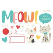 Meow Page Pieces - Simple Stories - PRE ORDER