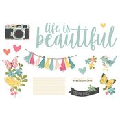 Life is Beautiful Page Pieces - Simple Stories - PRE ORDER
