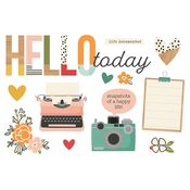 Hello Today Page Pieces - Simple Stories - PRE ORDER