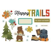 Happy Trails Page Pieces - Simple Stories - PRE ORDER