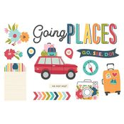 Going Places Page Pieces - Simple Stories - PRE ORDER