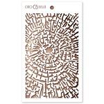 Cross Section Texture Stencil - Delta - Ciao Bella