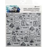 Happy Mail Background Stamp - Simon Hurley