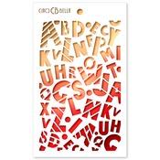 Baby Alphabet Texture Stencil - My First Year - Ciao Bella